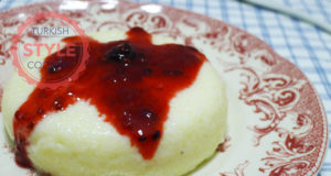 Semolina Dessert With Fruit Sauce Recipe