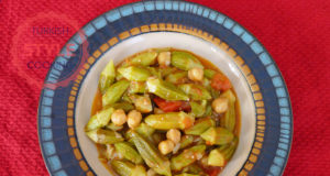 Okra Dish With Chickpeas Recipe