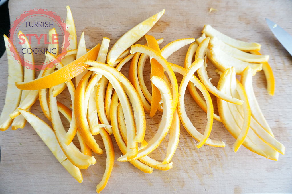 Orange Peel Candy Recipe