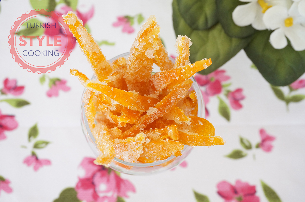 Orange Peel Candy RecipeOrange Peel Candy Recipe