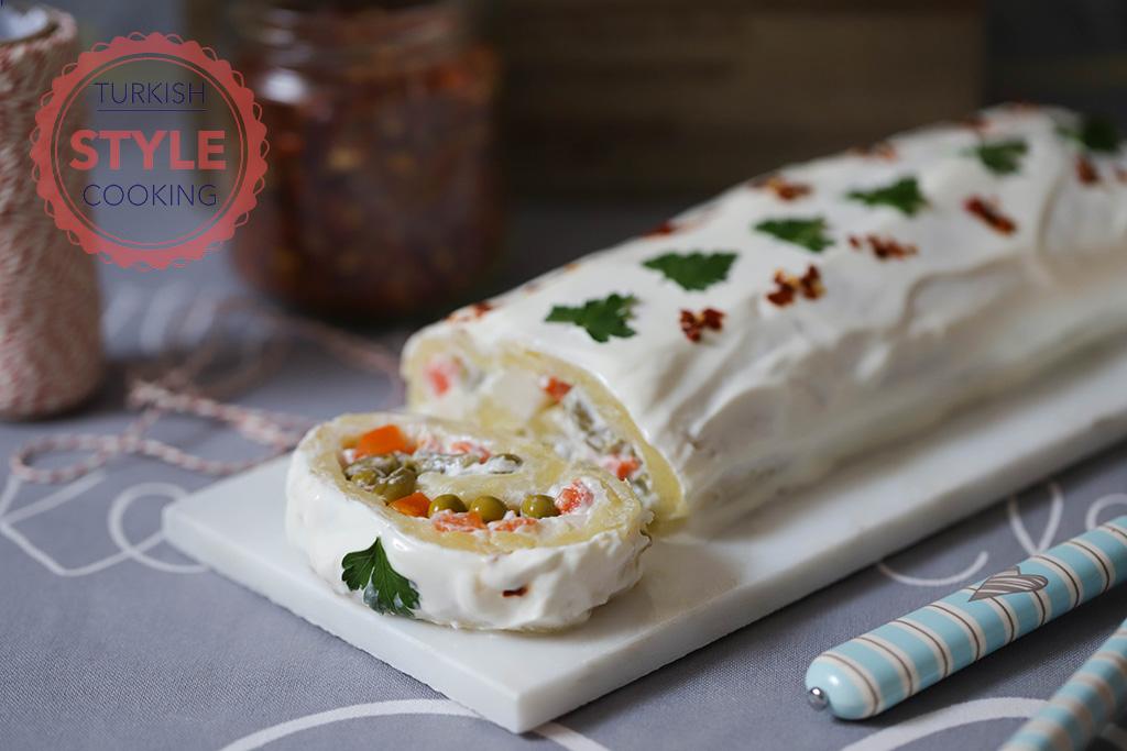 Potato Salad Roll Recipe