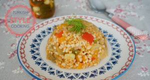 Vegetable Bulghur Pilaf Recipe