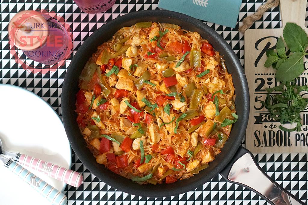 Chicken Vermicelli Pilaf