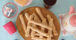 Crunchy Sesame Sticks Recipe