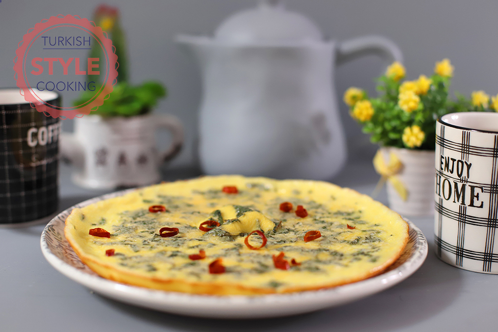 Fresh Mint Omelette Recipe