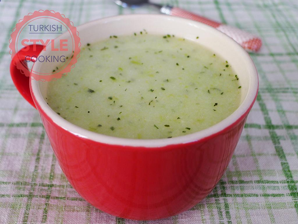 Sour Zucchini Soup Recipe