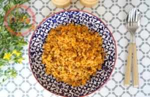 Bulghur Pilaf with Green Lentil Recipe