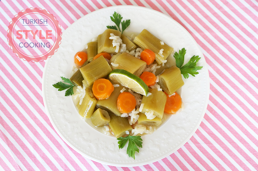 Leek with Olive Oil Recipe
