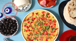 Red Pepper Omelette Recipe