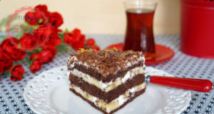 Black Forrest Banana Cake Recipe