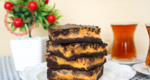 Pumpkin Cheesecake Brownie Recipe