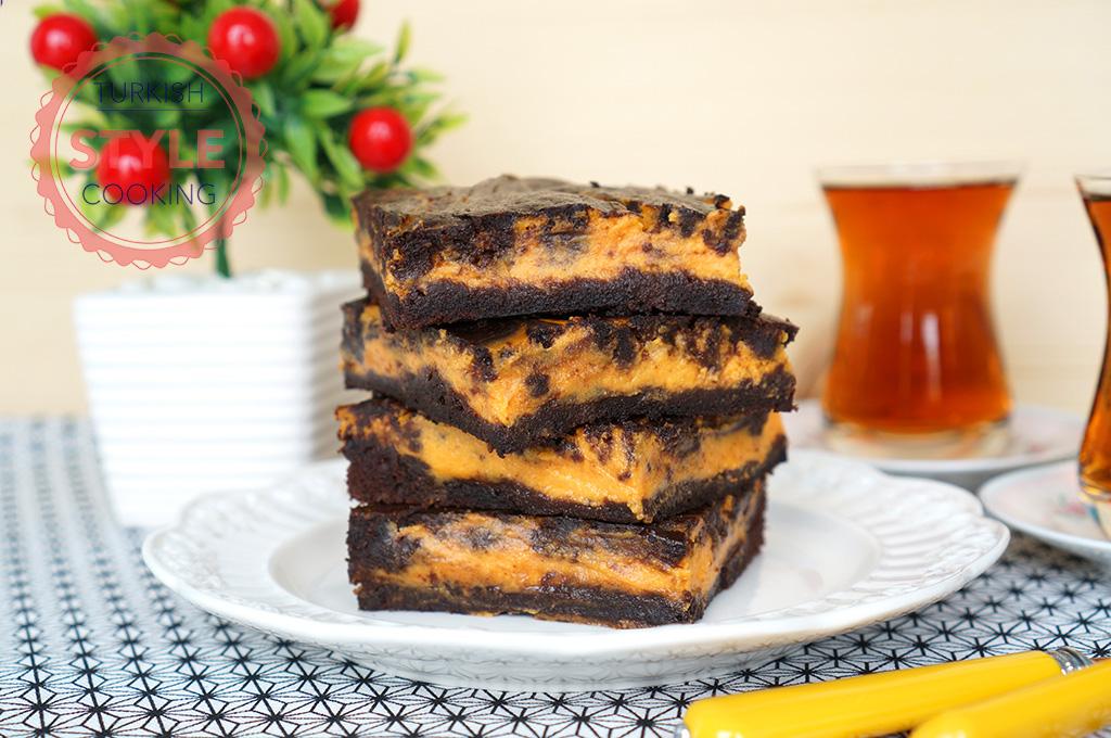 Pumpkin Cheesecake Brownie Recipe