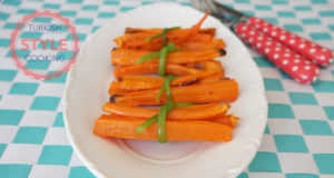 Healthy Baked Carrot Fries Recipe