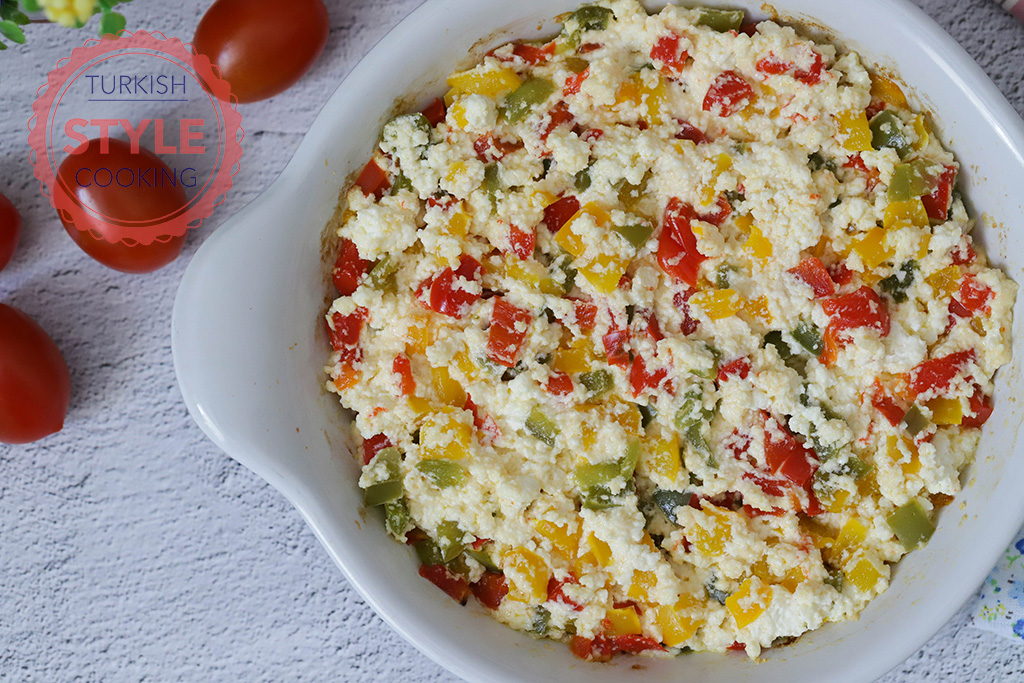 Baked Peppers With Cheese Recipe
