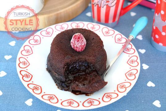 Chocolate Cake With a Soft Heart