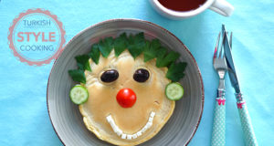 Smiling Face Pancake Recipe