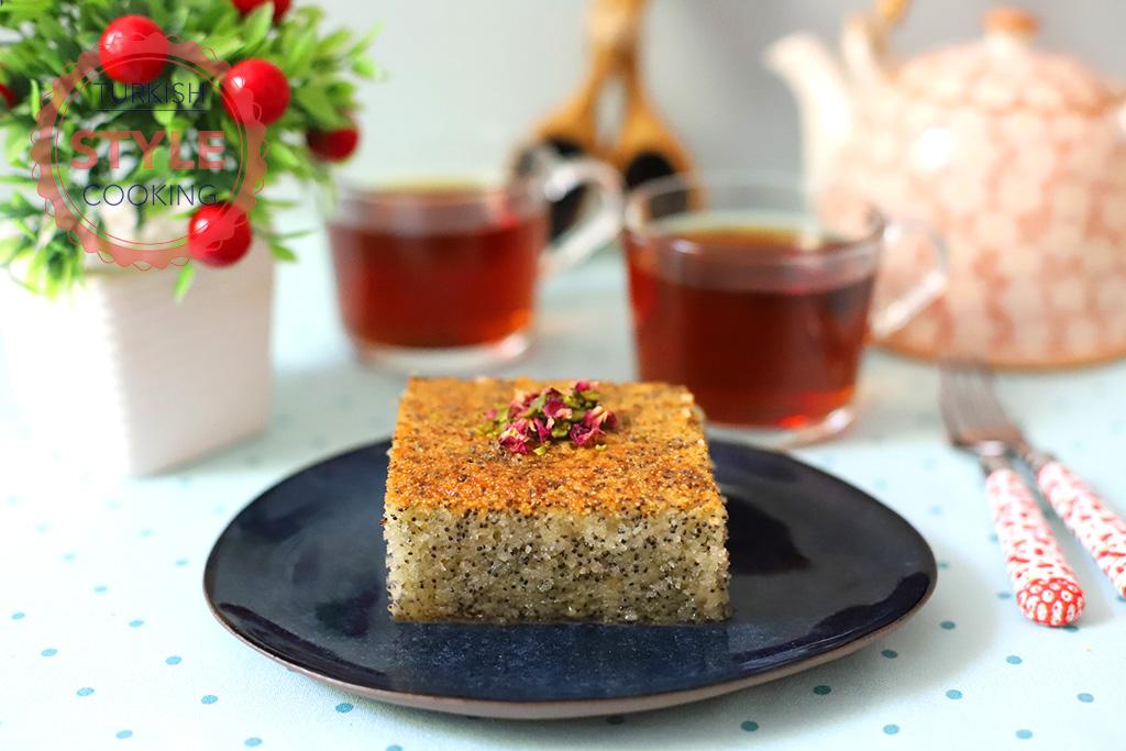 Revani With Poppy Seeds Recipe