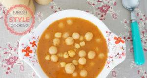 Sour Bulghur Kofta And Chickpeas Soup Recipe