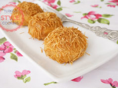 Kadaif Filled Cookies In Syrup