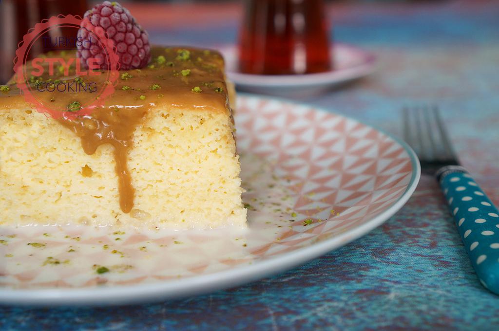 Turkish Trilece Cake Recipe