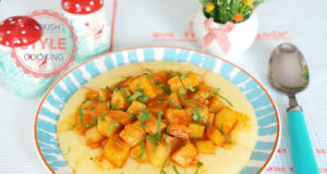 Cream Polenta With Sauteed Zucchini Recipe