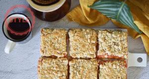 Peach Crumble Bar Recipe