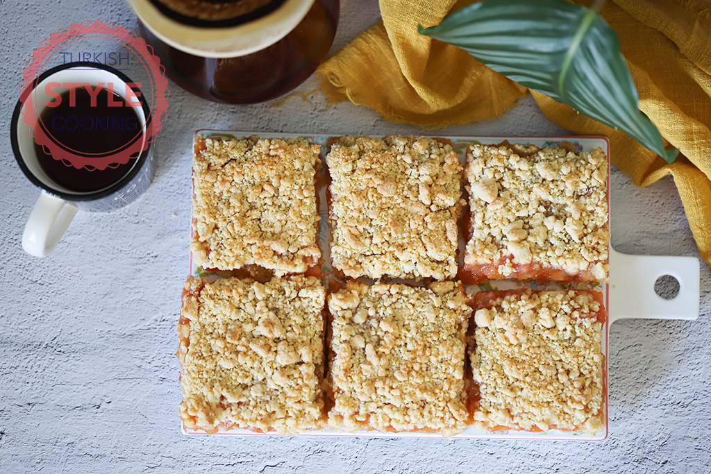 Peach Crumble Bar Recipe