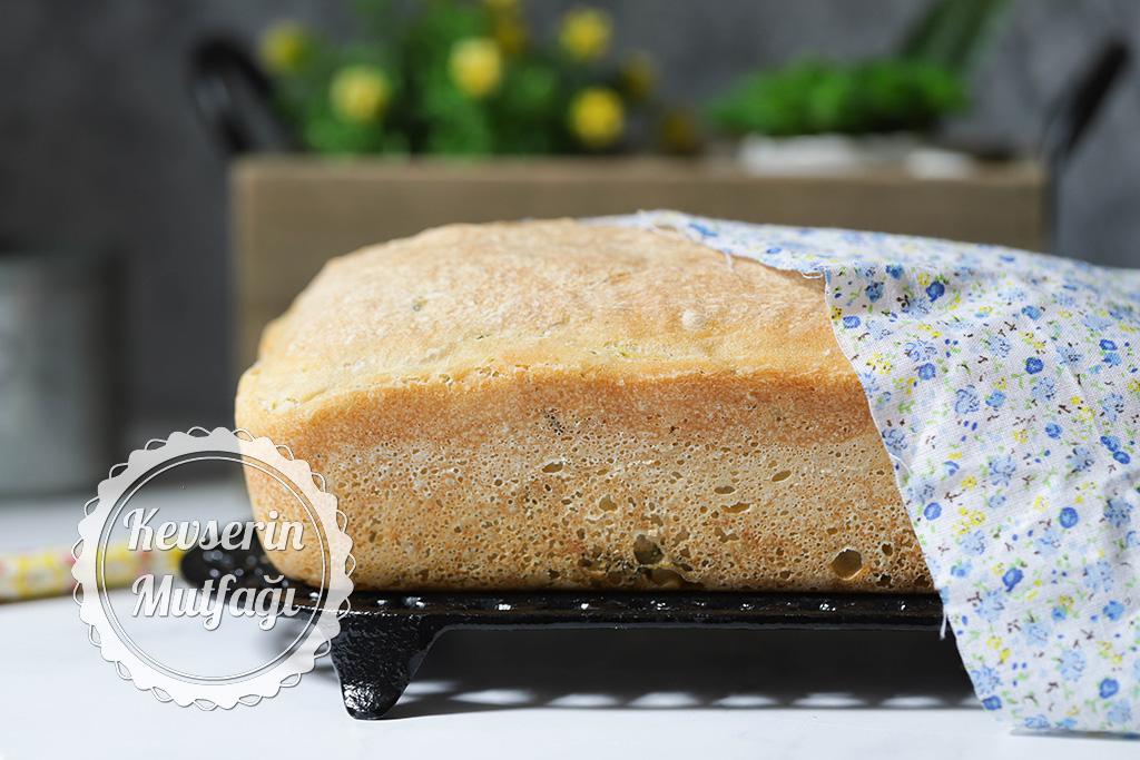 No Knead Cucumber Bread Recipe