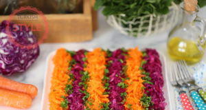 Purple Cabbage and Carrot Recipe Salad