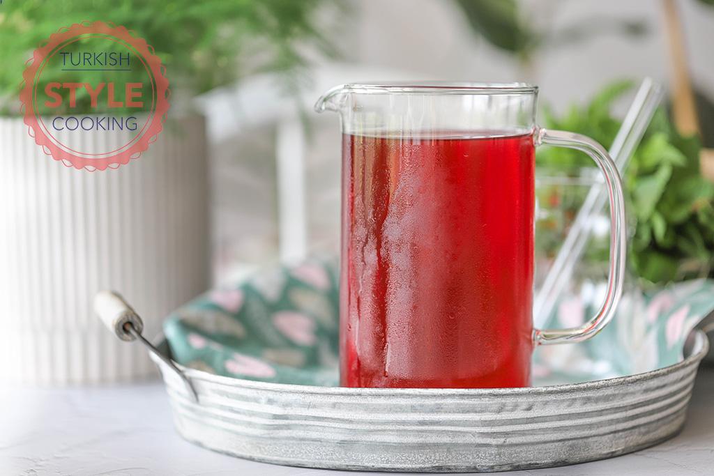 Hibiscus Sherbet Recipe