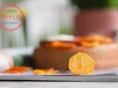 Baked Potato Chips Recipe