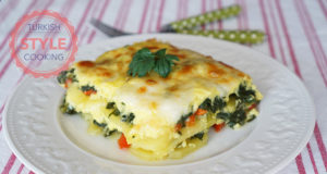 Spinach Potatoes Au Gratine Recipe