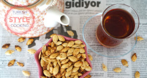 Baked Spicy Pumpkin Seeds
