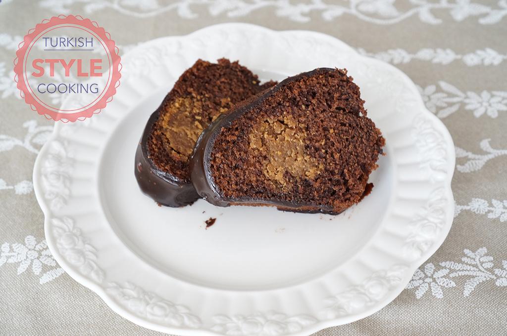 Peanut Butter Filled Cake