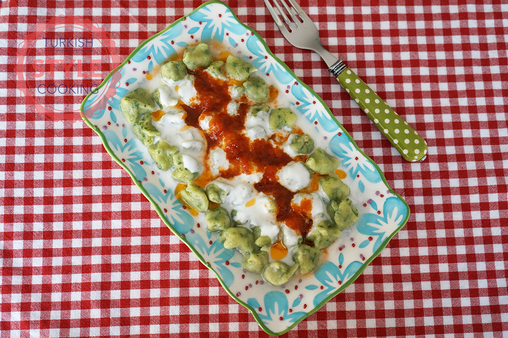 Spinach Manti Recipe