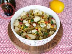 Tahini Cauliflower Salad Recipe