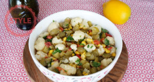 Tahini Cauliflower Salad Recipe