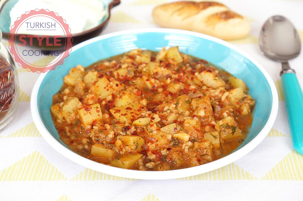 Zucchini Dish With Bulgur