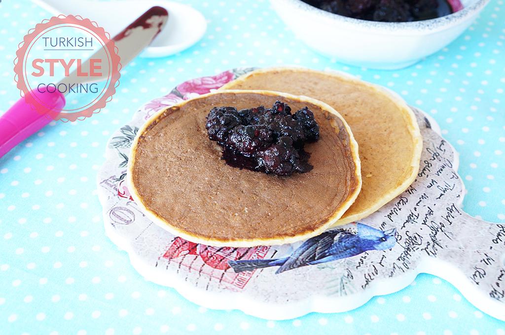 Diet Wheat Bran Pancakes