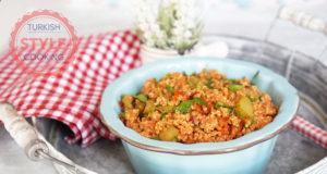 Turkish Style Quinoa Salad Recipe