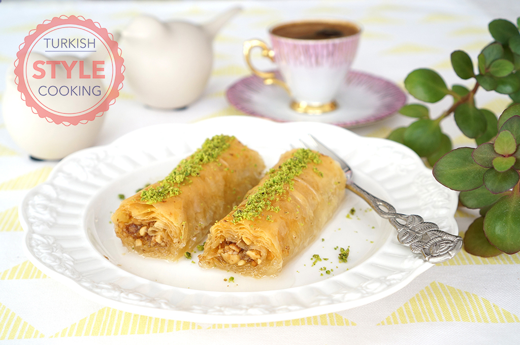 Easy Walnuts Baklava Recipe