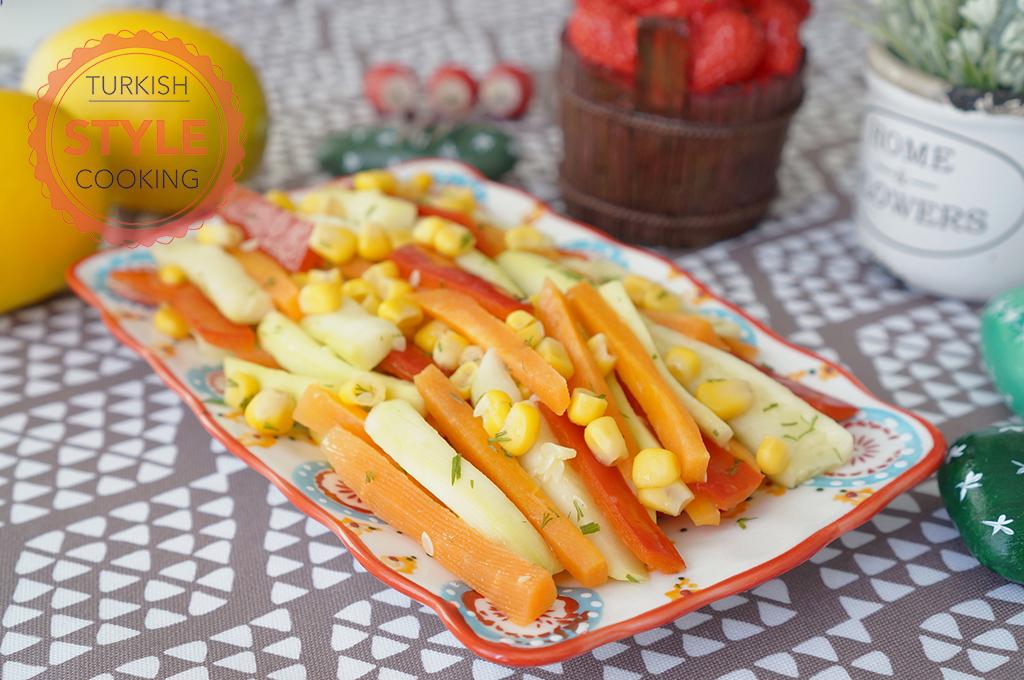 Steamed Vegetable Salad Recipe