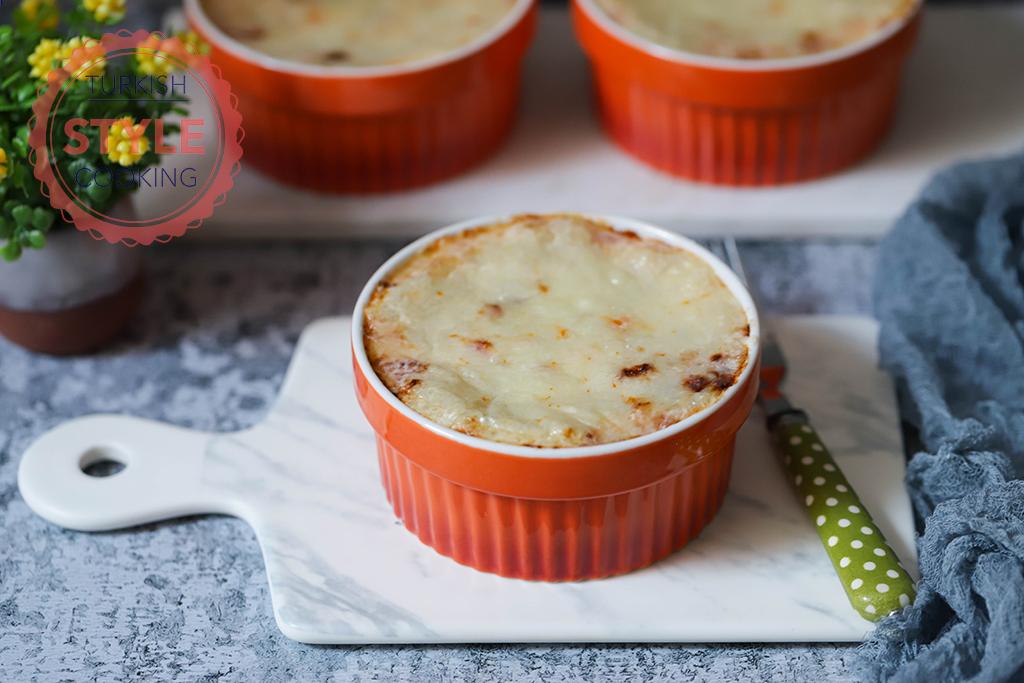 Baked Potato Moussakka Recipe