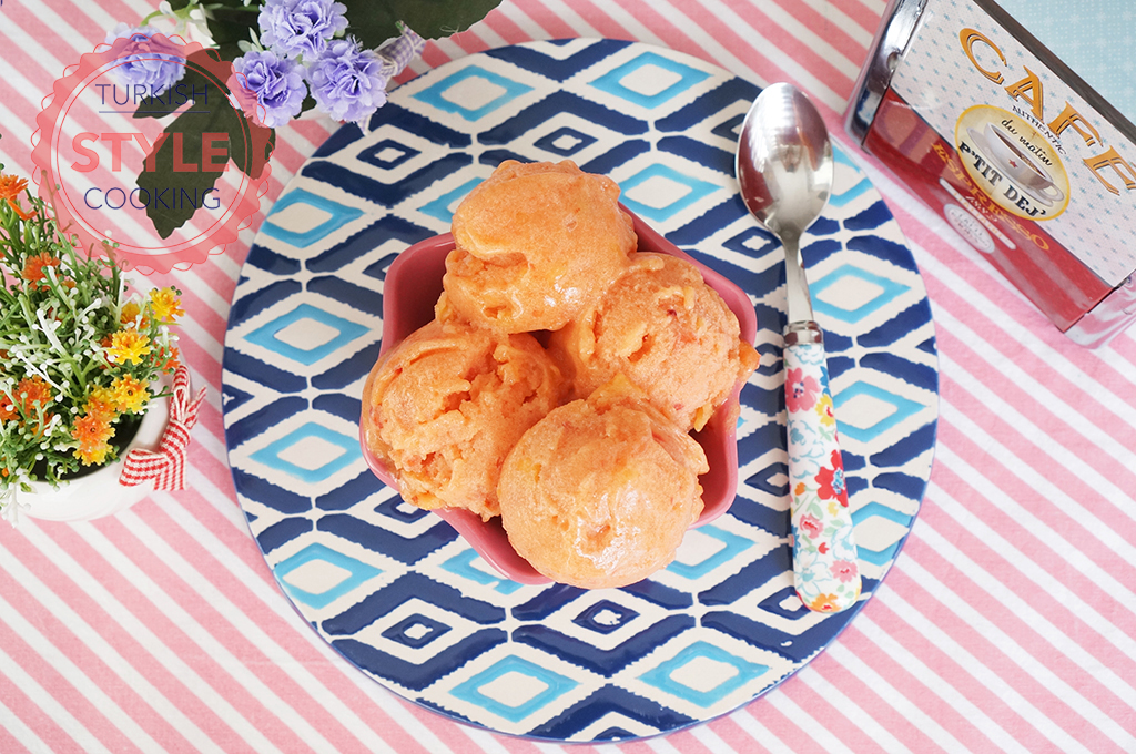 Easy Peach Sorbet Recipe