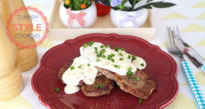 Strip Steak With Cheese Sauce Recipe