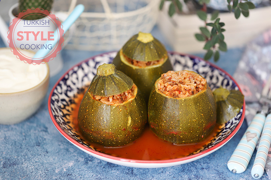 Stuffed Eight Ball Zucchini Recipe