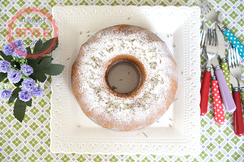 Lavender Bundt Cake Recipe