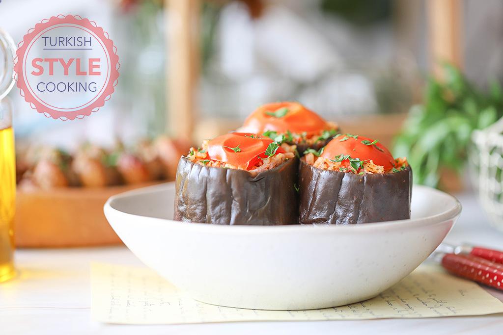 Eggplant Dolma (Stuffed Eggplant) Recipe