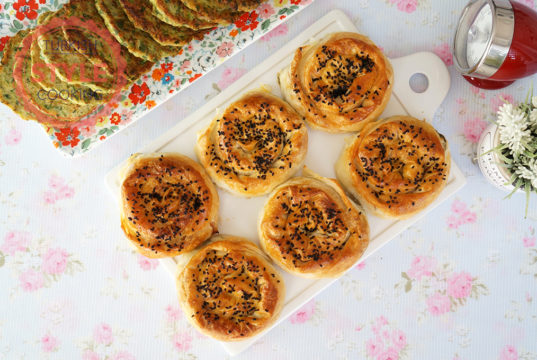 Rose Shaped Cheese Borek Recipe