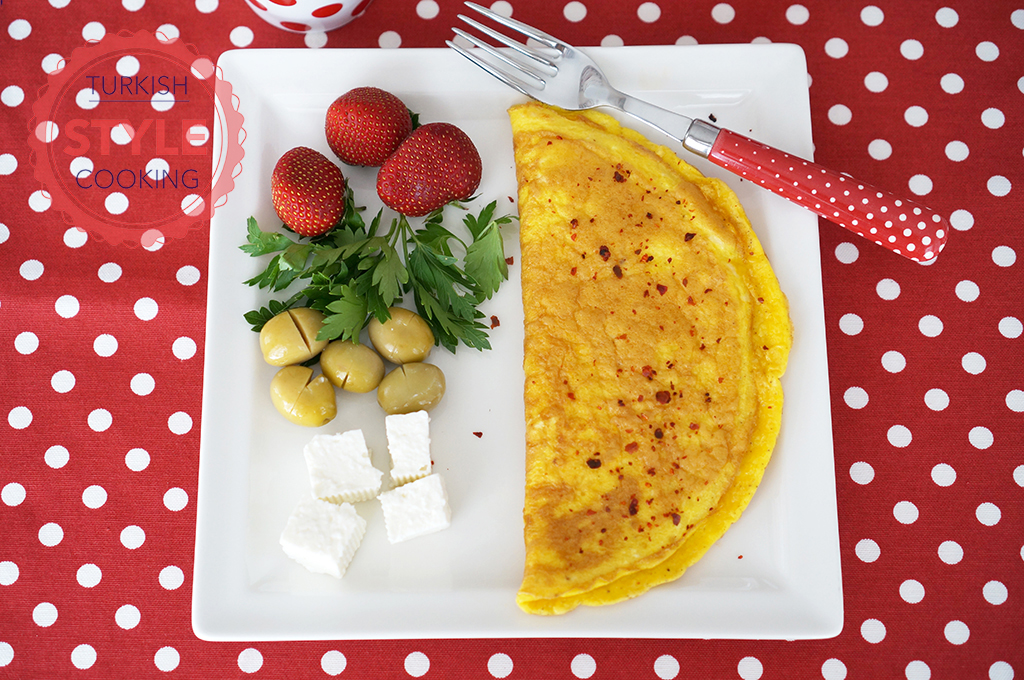 Basic Omelette Recipe - Turkish Style Cooking